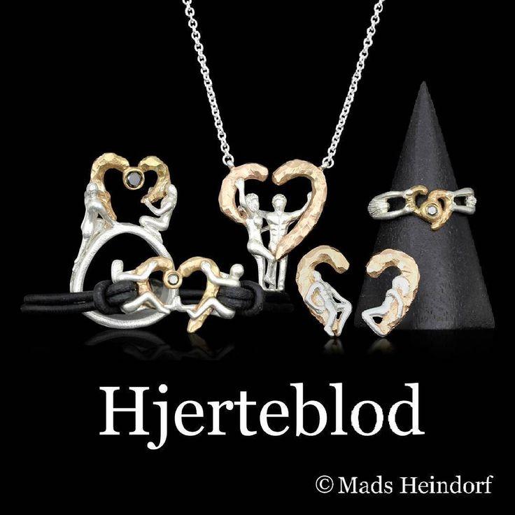 Vi præsenterer den ny kollektion Hjerteblod Kærlighed er den største kraft i verden. Den overgår alle våben og overlever alle krige. Den kan blive revet itu men kan også heles igen. Hvor der er kærlighed er der håb for os mennesker   Overskuddet fra salget af smykkerne går ubeskåret til @dignityinstitute   #hjerteblod #MadsHeindorf