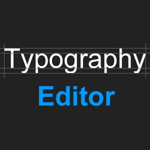 TypographyEditor.com: a free online Typography Generator and Typography and Meme Maker. Create your own text art and typography design. Design your Posters and Memes with backgrounds, badges, borders, rulers, frames, corners and other (vintage) ornaments and add text with backdrops and shadows.