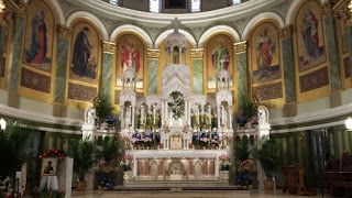 Saturday  3:00 p.m. Adoration of the Blessed Sacrament   4:00 p.m. (Anticipated Mass)    Sunday  8:30 a.m. Extraordinary Form of the Mass in Latin (Tridentine High Mass)  10:30 a.m. Mass in English