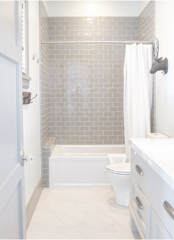 33 small bathroom remodel before and after gray tile