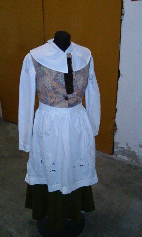 Abito per ragazzina 10/12 anni presepe Barocco Genovese