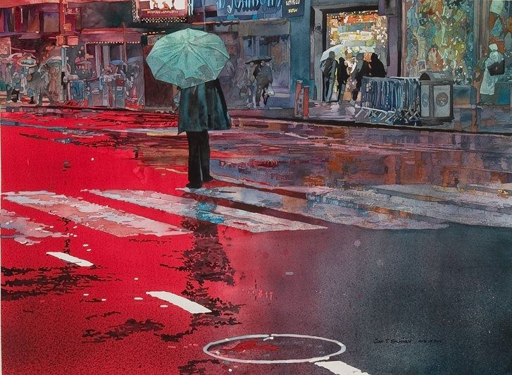 John T. Salminen Watercolorist