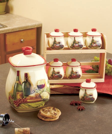 vineyard kitchen collection - Wine Themed Kitchen Ideas