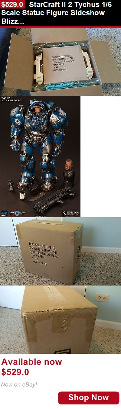 Telescope Filters: Starcraft Ii 2 Tychus 1/6 Scale Statue Figure Sideshow Blizzard Us Seller BUY IT NOW ONLY: $529.0