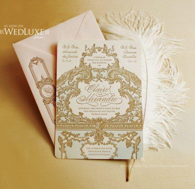 ♥Royal Wedding Theme ~ Marie Antoinette (I like the pink & gold)