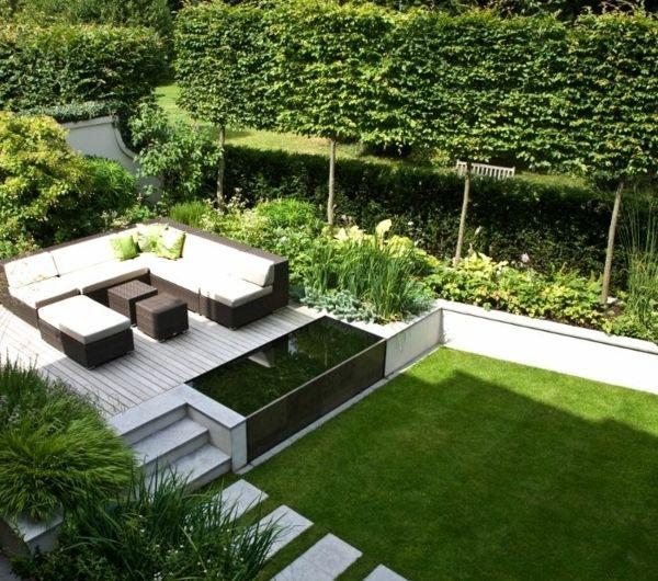Moderne Schone Gartenmobel Rattan Schonen Garten Gestalten Garten Ideen Garten Garden Architecture Modern Garden Small Garden Design