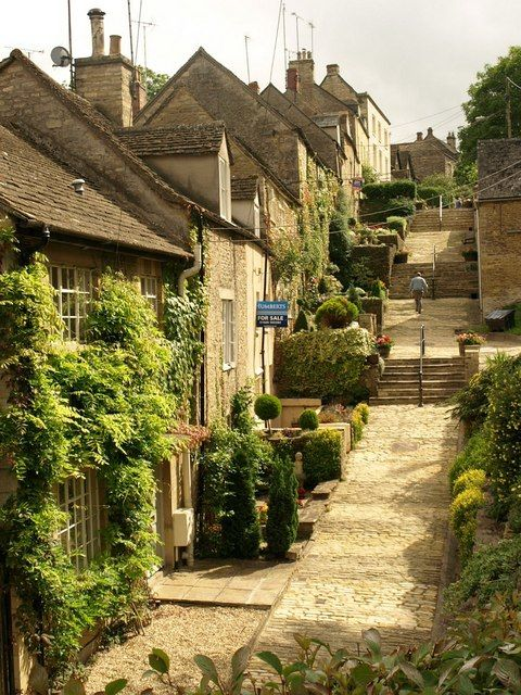 Chipping Steps, Tetbury, Gloucestershire, England