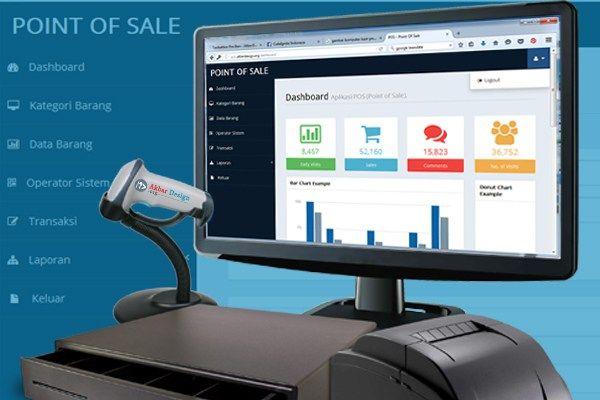 aplikasi penjualan barang dengan codeigniter