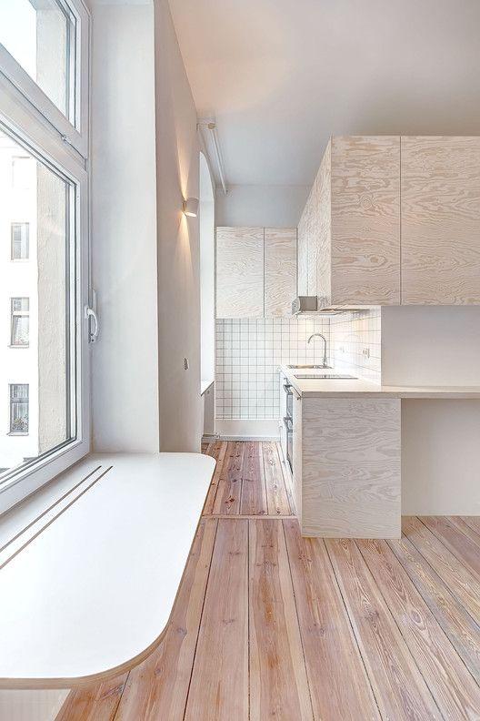 Micro-apartment in Berlin,© Ringo Paulusch