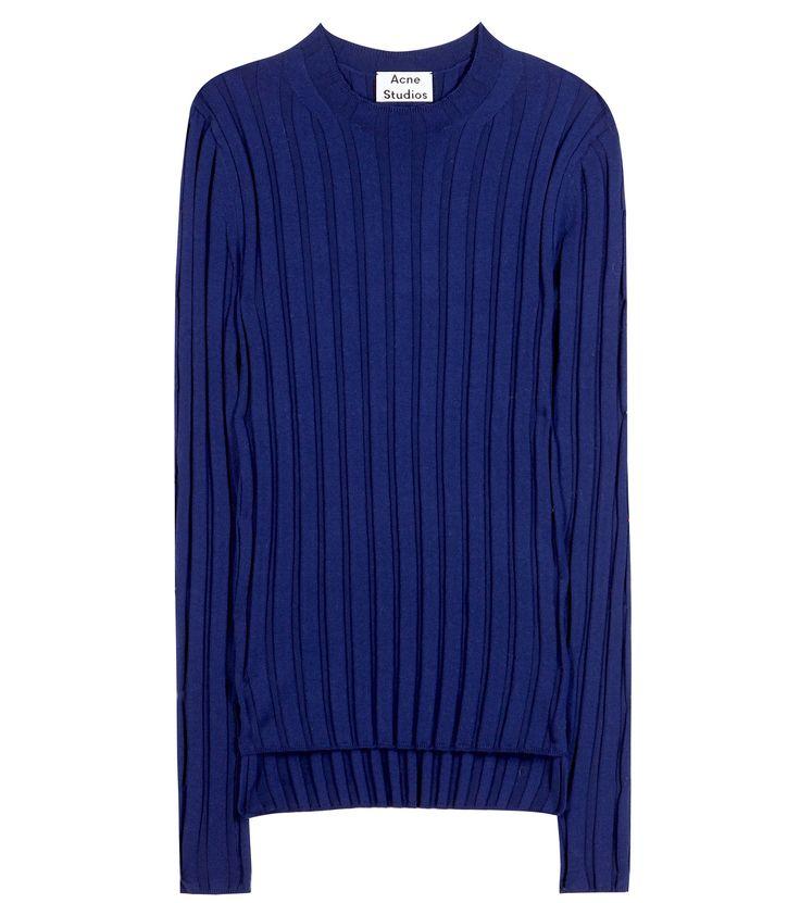 mytheresa.com - Carin mérinos laine côtelée mélange pull - Mode de luxe pour les vêtements femmes / Designer, chaussures, sacs