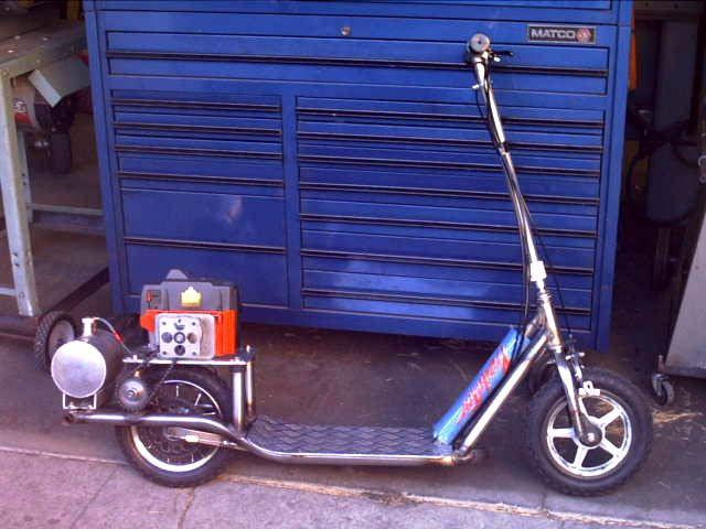 Homemade Scooter Plans Homemade Motorized Scooter