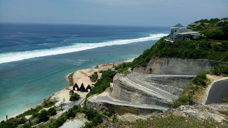 Melasti beach,  some place the secret