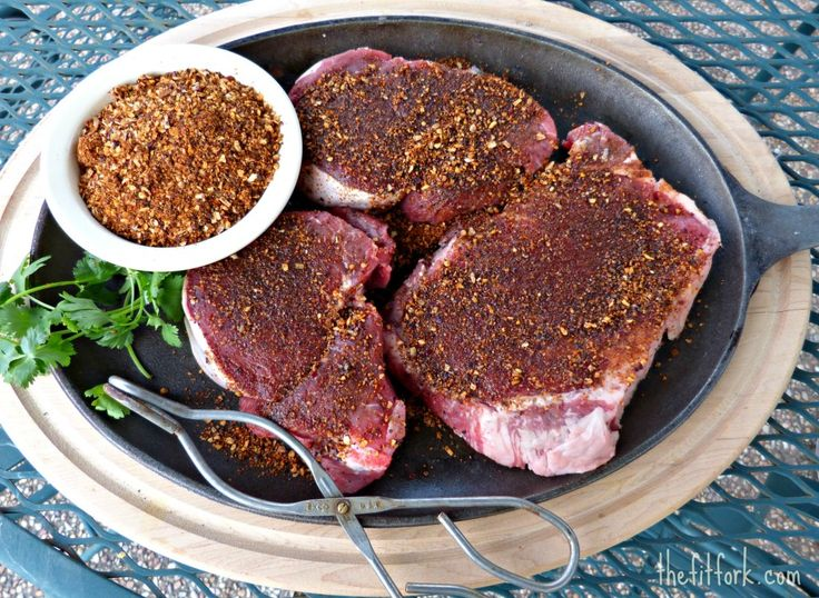Gone Grilling | Spice-Crusted Tenderloin Steaks and Street Corn with Chipotle Garlic Butter - thefitfork.comthefitfork.com
