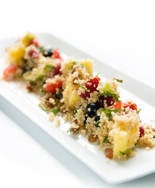 Quinoa met vers fruit, kaneel en honing | NatureCrops