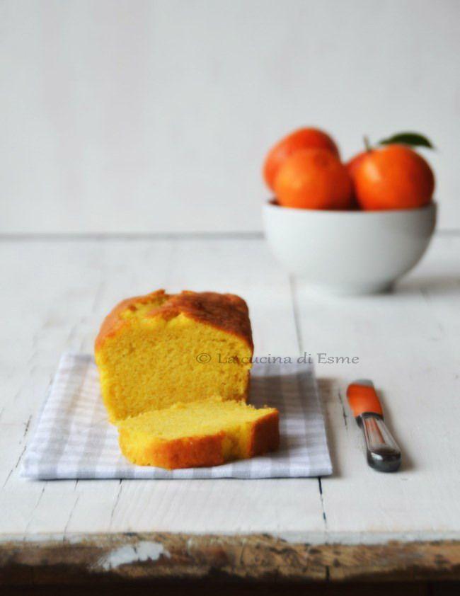 Plum cake sofficissimo alla zucca cruda, con profumo di mandarino - cake with pumpkin