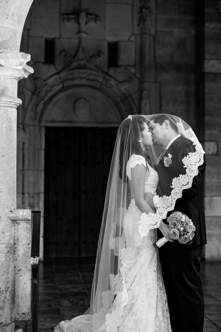 Miami Spanish Monastery Wedding from Dillon Photo  Read more - http://www.stylemepretty.com/florida-weddings/2013/11/13/miami-spanish-monastery-wedding-from-dillon-photo/