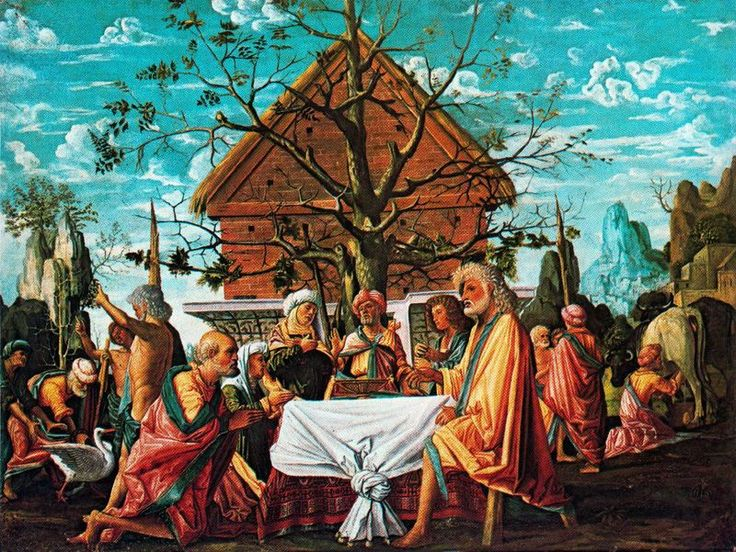Bramantino - Filemone e Bauci