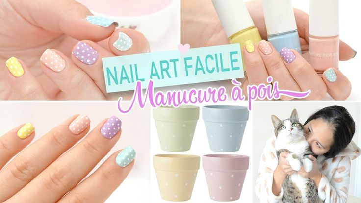 17 best images about diy tutos on pinterest livres manche and bijoux - Nail art facile ...
