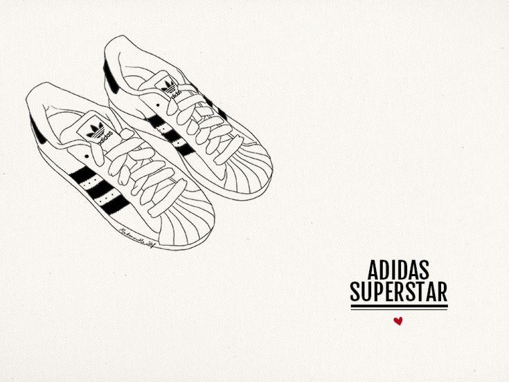 Adidas Superstar - Mademoiselle Stef