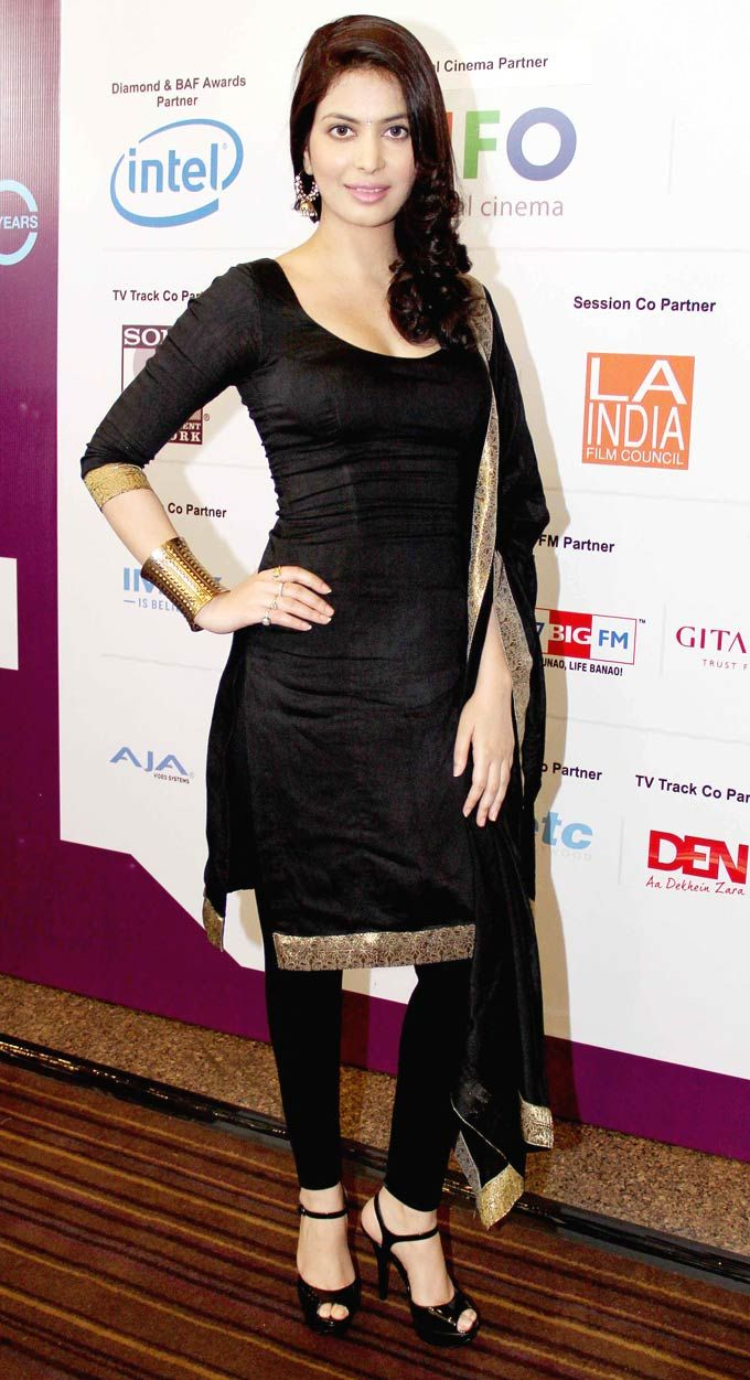 Ankita Shorey at the FICCI Frames 2013 #Bollywood #Style #Fashion #ethnicwholesaler