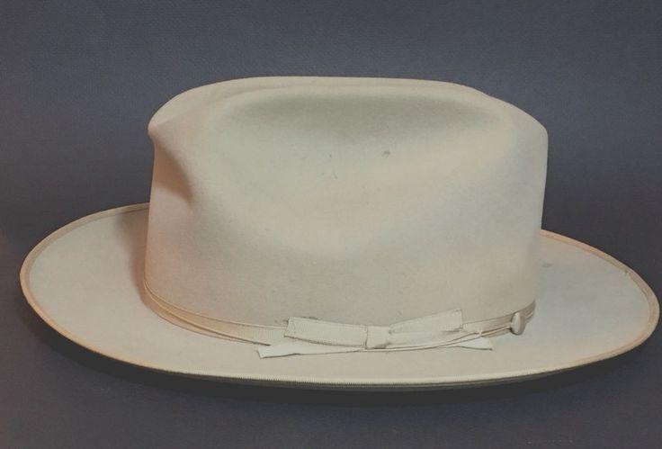 Vintage Royal Stetson Fedora Size 7 1/4  #Stetson #Fedora