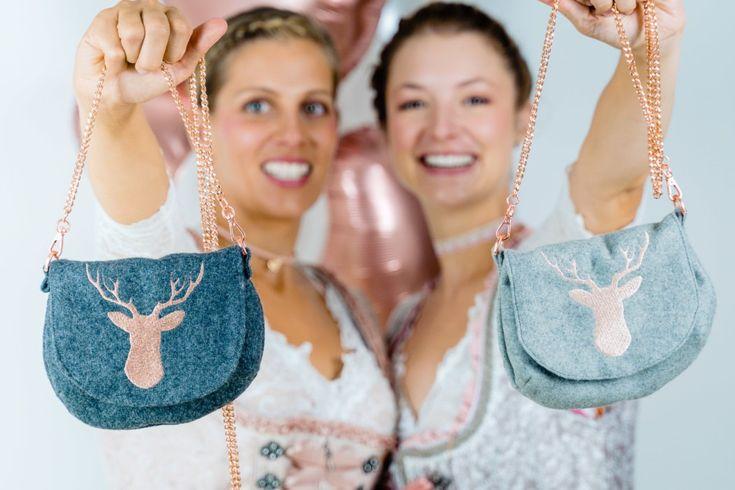Oktoberfest Tasche nähen: Anleitung für Tasche mit Kette 761b13b5cf47a40ea30e16df6879c02e
