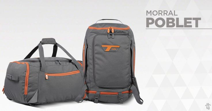 SS161 - POBLET 2 in 1 Duffel backpack