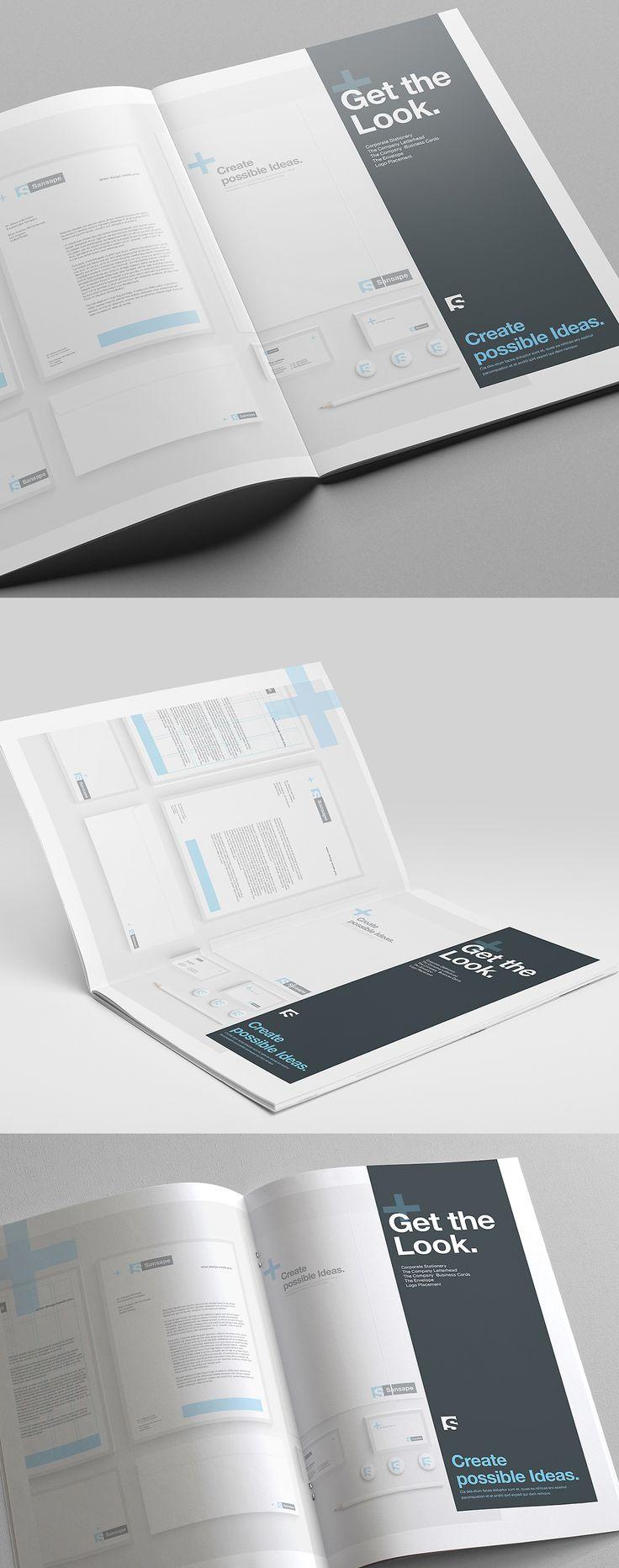 Brand Manual on Behance