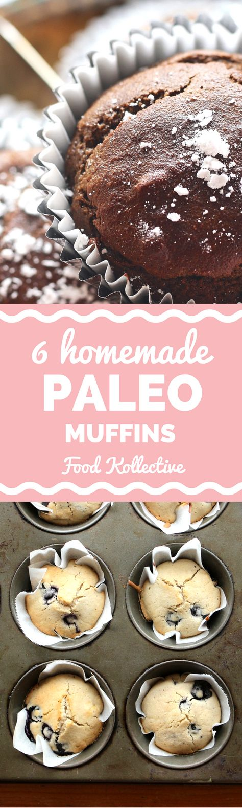 I was hunting for paleo muffins and these look incredible! There are recipes for paleo chocolate muffins, paleo banana muffins, paleo blueberry muffins, and more. Pinning this for later! Collected on FoodKollective.com
