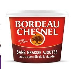 Rillettes purc porc Bordeau Chesnel