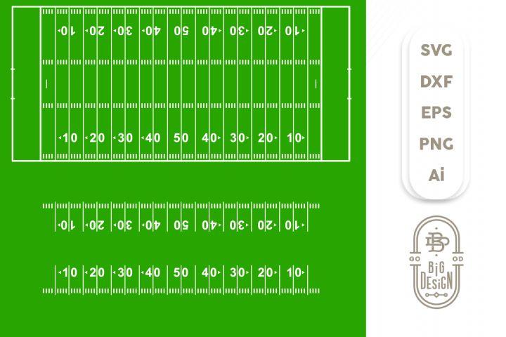 Football yard line svg football svg football field svg