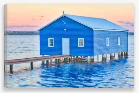 Canvas Wall Art – Boathouse