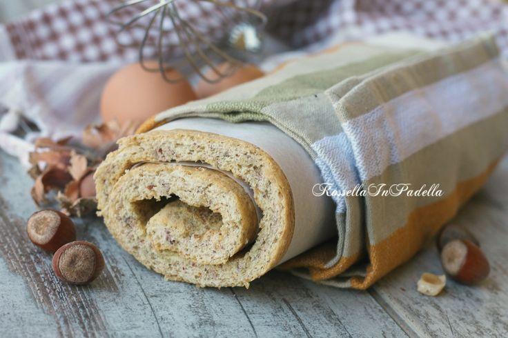 Pasta biscotto alle nocciole, ricetta base per rotoli dolci