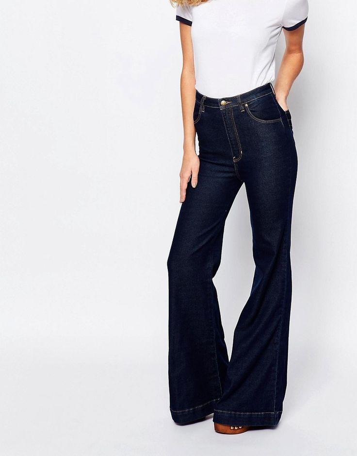 Rollas+East+Coast+High+Waist+Flare+Jeans