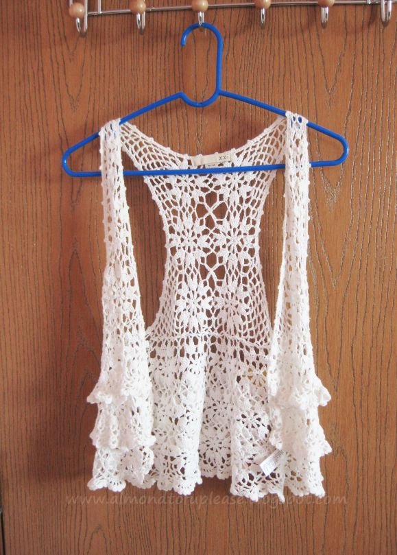 Lovely crocheted vest :)
