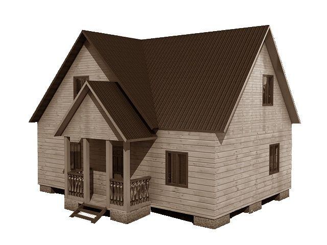 Готовый проект каркасно-щитового дома 9x7,5 Строительная компания «ДОМ МЕЧТЫ»