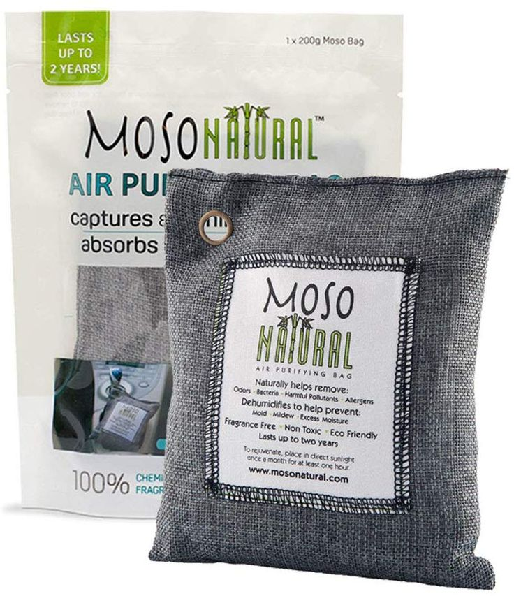 MOSO NATURAL Air Purifying Bag. Bamboo
