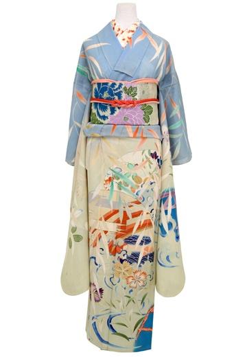 Antique Summer Kimono