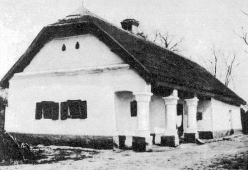 Hajdúnánás - tornácos ház 1900