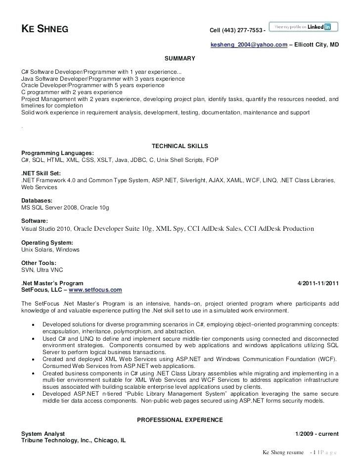 5 Years Experience Resume Format from i.pinimg.com