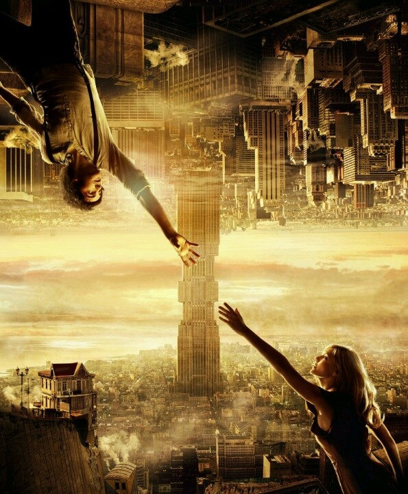 """""""Upside Down"""" movie. Adam and Eden fell in love as teens despite the fact that they live on twinned worlds with gravities that pull in opposite directions. Ten years after a forced separation, Adam sets out on a dangerous quest to reconnect with his love."""