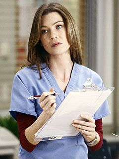 Meredith Grey (I do know she's just a character, but still ... I like her a lot.)