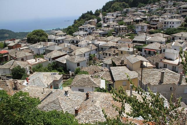 Thassos, Greece - check