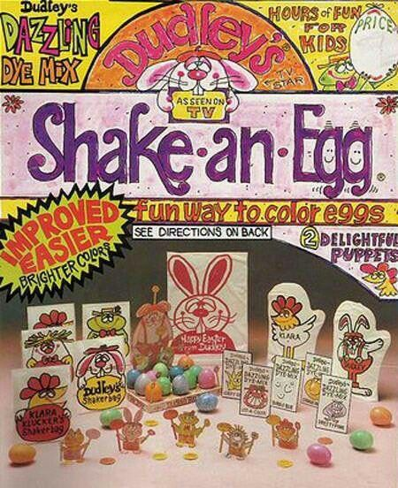 33 best Vintage Easter Egg Dye Kits images on Pinterest | Vintage ...