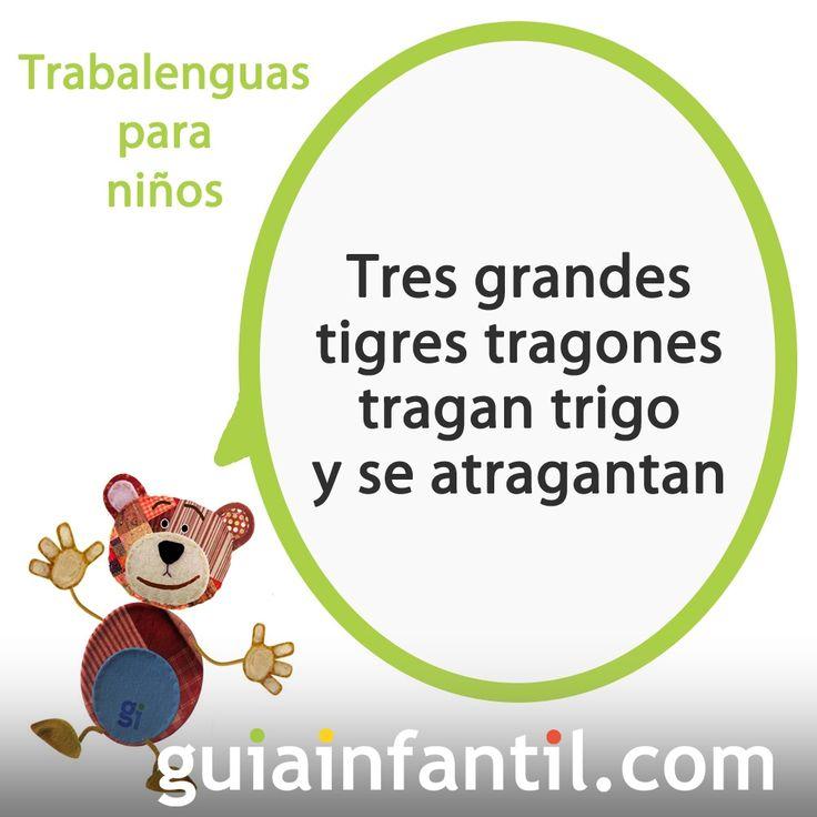 35 best images about trabalenguas on pinterest spanish for Plafones de pared infantiles