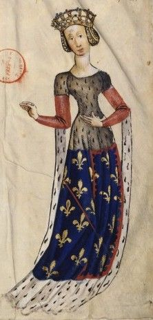 1375-1434 Marie de Berry by marriage Comtesse de Motepensier http://jeannedepompadour.blogspot.com