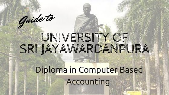 Most of accounting procedures are recently developed in to computer based So for those who are trying to enter in to accounting filed is essential to get knowedge on Computer based accounting. Diploma in Computer Based Accounting Course is computer based course which conducted by Department of #Accounting ,#University #srilankaeducation #srilankacourse