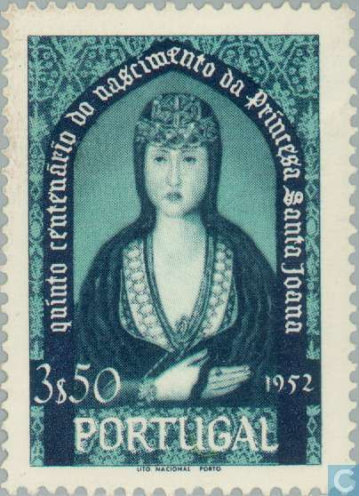 Portugal [PRT] - Princess St Johanna 500 years 1953