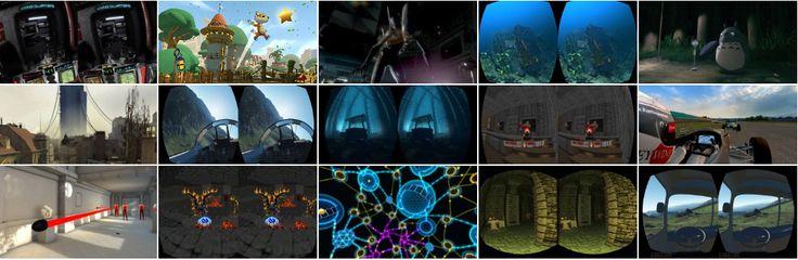 Oculus Rift DK2 Supported Games