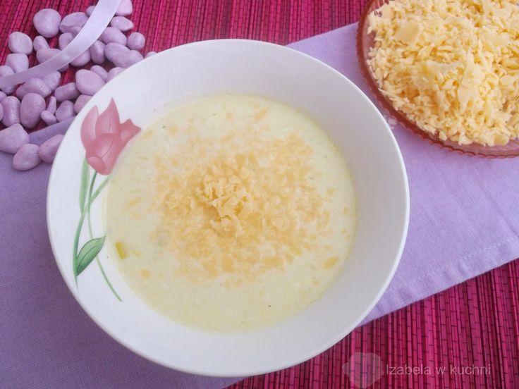 Izabela w kuchni: Duńska zupa serowo-porowa.